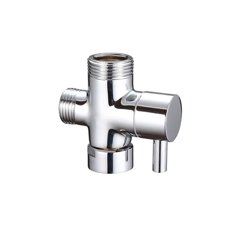 3 way brass quick open shower dispensing diverter water angle valve