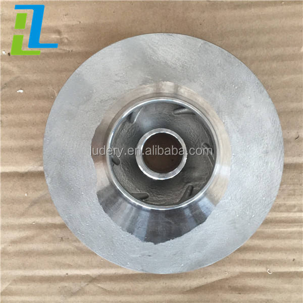 Cnc mesin bagian stainless steel pompa air impeller