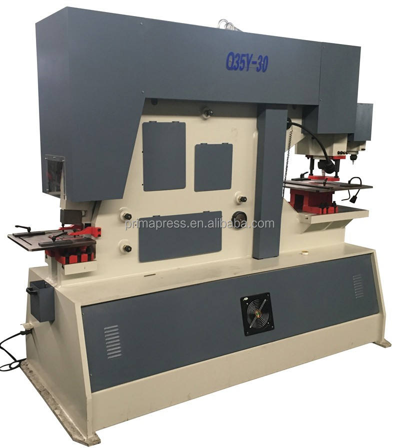 Cheap Price Middle steel hydraulic iron worker, Q35Y Hole Punching and Shearing Machine