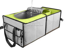 waterproof trunk organizer with cooler