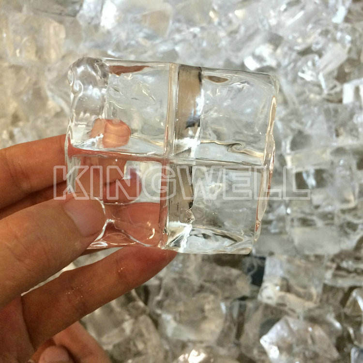 Fabrikant supply goede prijs ijs making machine/cube ice maker