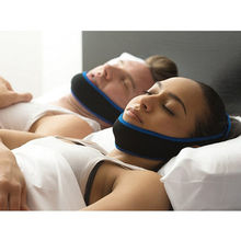 Customized anti snore chin strap breathing cpap full face mask for sleep apnea