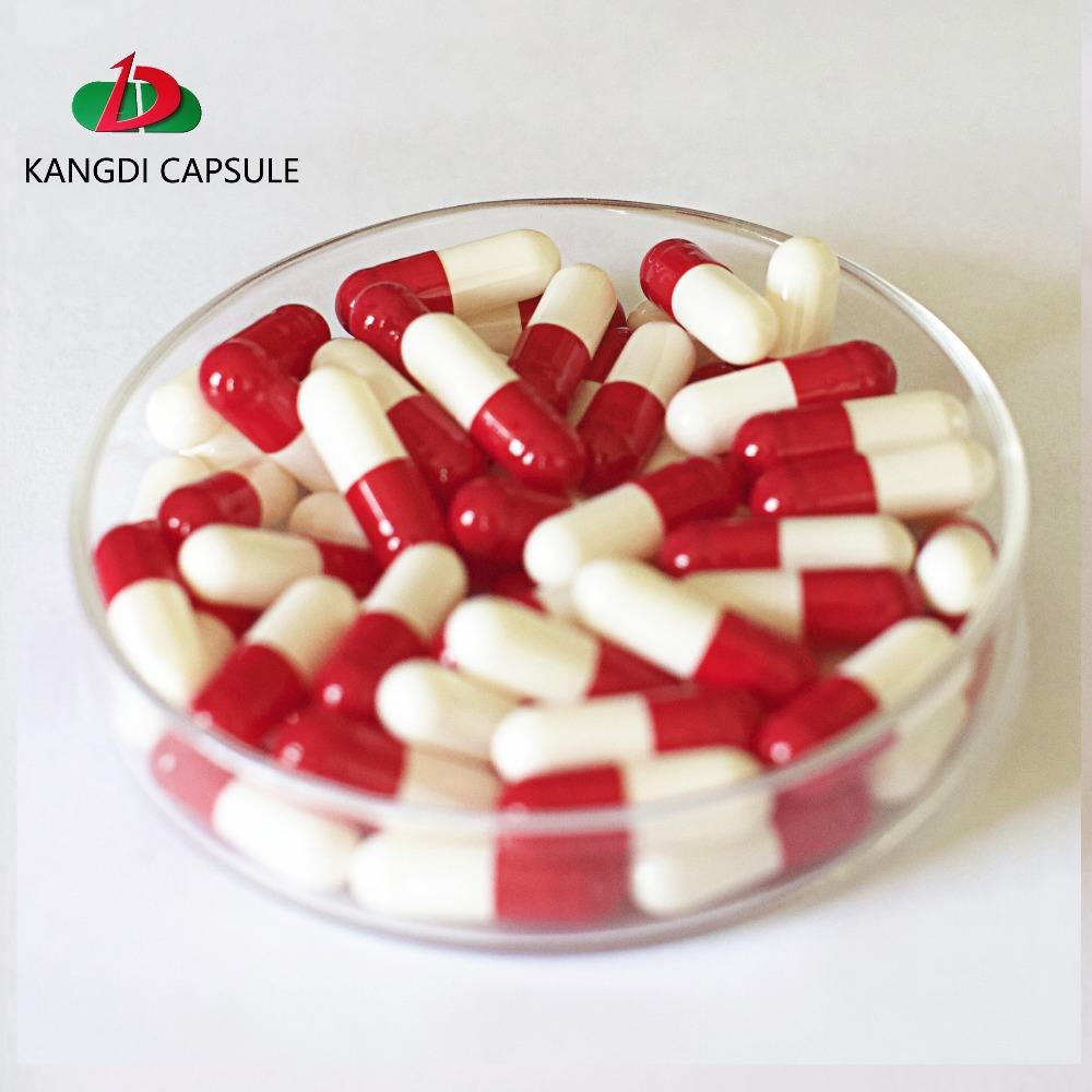 Bovine Bone Gelatin Printing Customized Empty Capsules/Halal Certificated Islamic Hard Capsule Shells