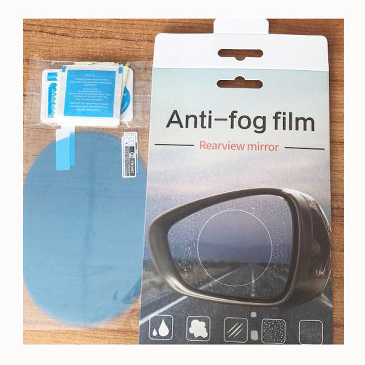 High Transparent PET Waterproof Rearview Mirror Film Anti Fog Car Sticker