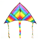 Large Colored Stripe Kite Best selling Product 140 cm Colored Strip Kite in Summer