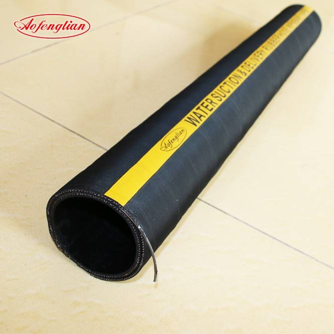 water delivery/suction rubber hoseair hose 3inch EPDM suction water pump hose