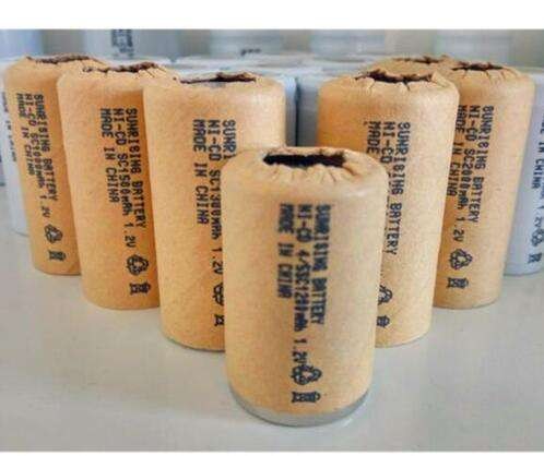 Sub- 1.2V nicd 1800mAh SC battery for power tool