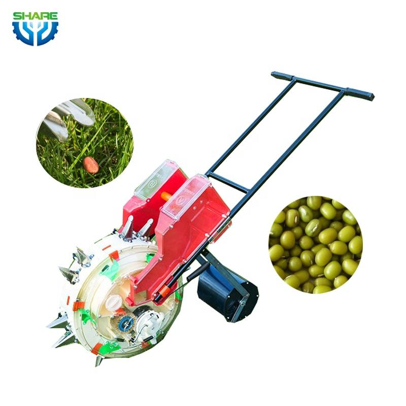 Manual Hand Push Seed Corn Planter with Fertilizer for Sale