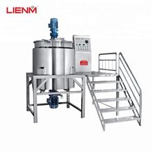 Guangzhou Factory Liquid soap, Detergent, Shampoo, Shower Gel Making Machine/ Mixing Tank/ Mixer/Production Line/Agitator/Blend