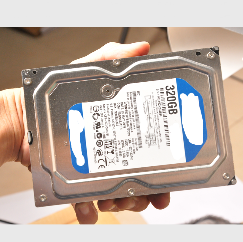 3.5 Inch Hard disk 320gb SATA HDD Hard Drives.