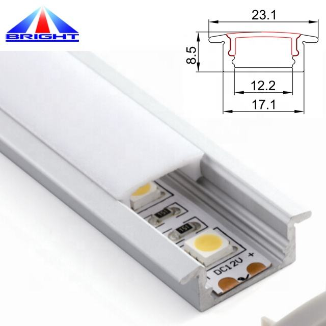 Edge Lighting Aluminium Profile Led Bar
