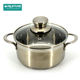 China manufacturer stainless steel cookware pot handles induction and pans