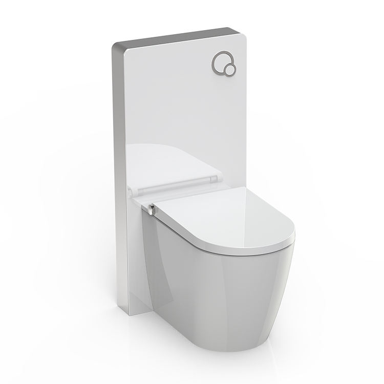 Top Quality flushing upper dual -flush toilet glass cistern for squatting pan