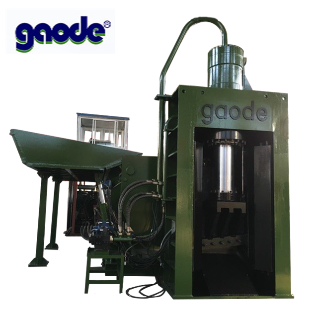 Gaode Hydraulic Recycling Scrap Heavy Metal Baler Shear machine