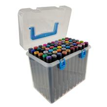 12/24/36/48/60 Different Colors Dual Tip Marker Pen Set, Oil-based Double Head Art Marker For Kids and Adult Drawing