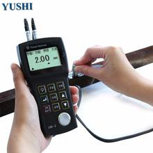 ndt chinese factory digital steel plate pipe wall thickness gauge ultrasonic