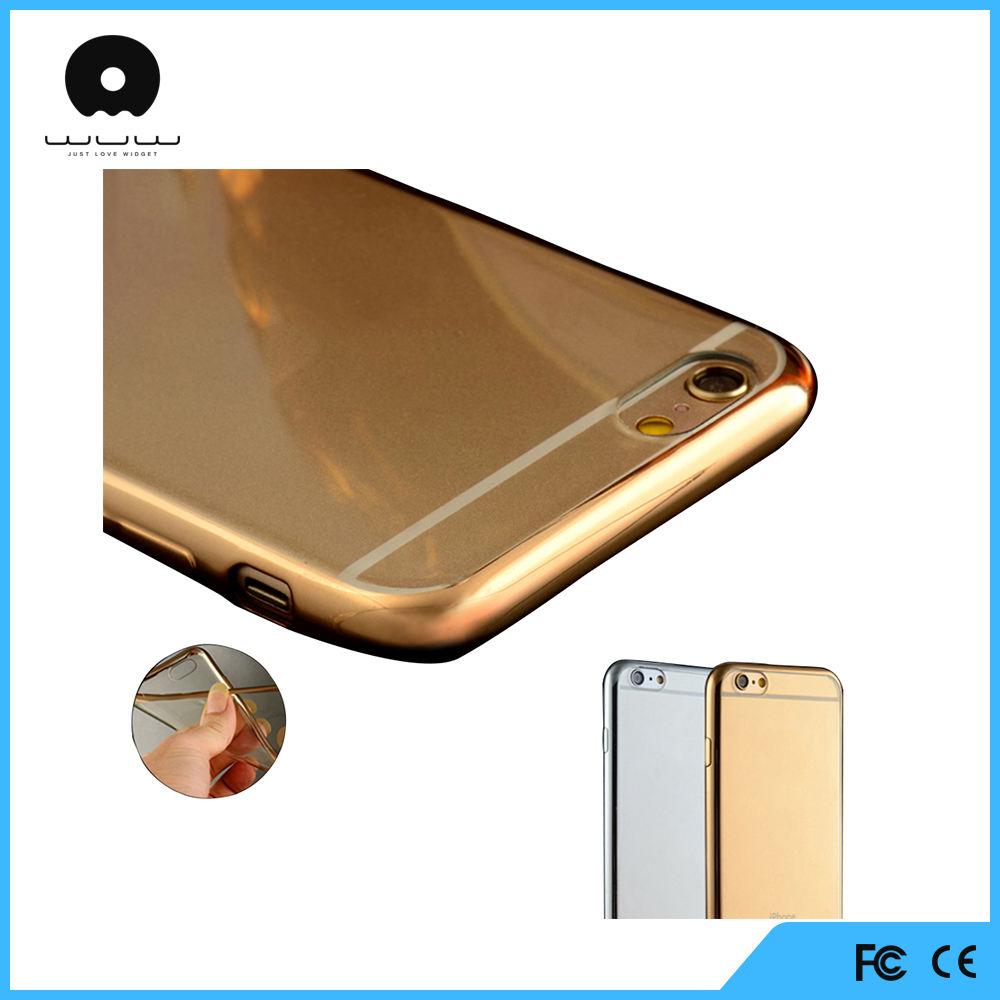 Новый Гальванических выделите ТПУ прозрачный чехол для iphone 6 case интернет-магазин