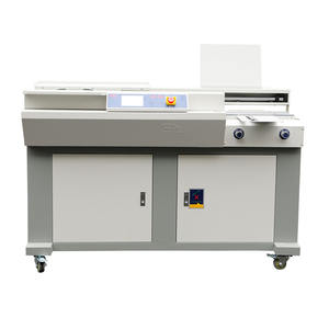 BM-600 Perfect Binder Hot Melt Lijm Automatische Boek Bindmachine