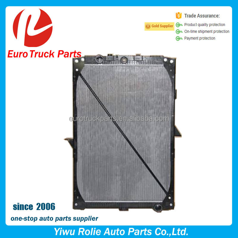 OEM 1739550 1692332 Heavy Duty European Tractor Cooling System DAF Truck Aluminum Radiator