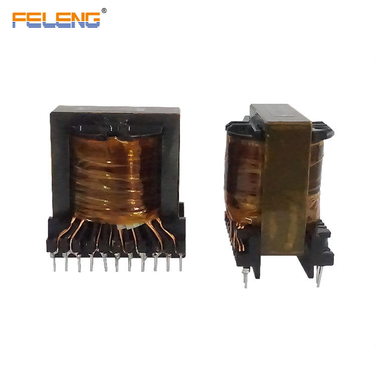 high temperature resistance plastic bobbin high frequency transformer ec49
