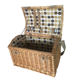 Person Picnic Basket 4 Person Picnic Basket Storage Wicker Basket With Strap