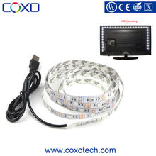 SMD 5050 DC 5V USB Power Supply RGB LED Strip Light for TV Background Lighting