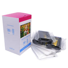 For Canon KP-108IN Ink Ribbons & Photo Papers Set for Selphy CP810 CP780 CP760