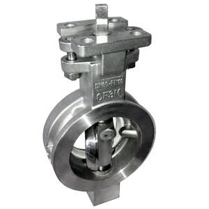 High performance wafer type double eccentric butterfly valve manufacturer Wenzhou