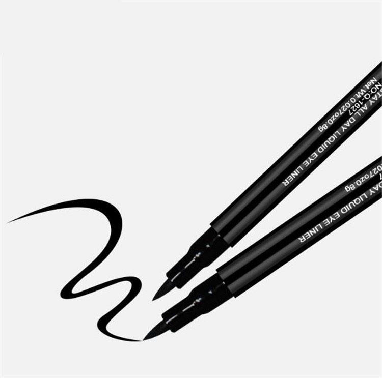 2019 Hot sale Black Liquid Waterproof and Oil Free Eyeliner Pen of Long Lasting and No Smudge of ECO Friendly Material