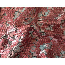 "POLY LACE SEQUINS EMB.51/52"",sequined lace fabric"