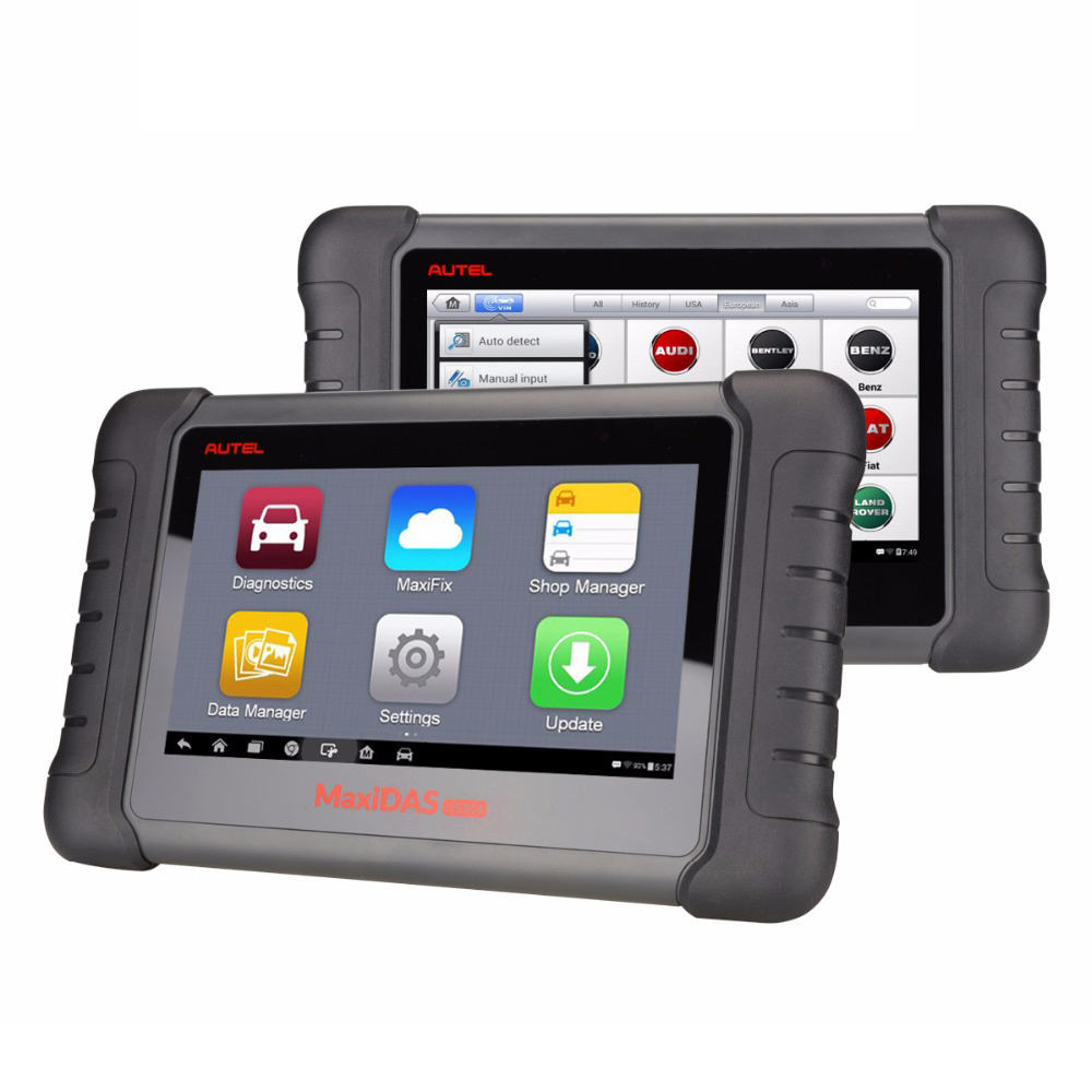 New Release Diagnostic Tool Autel MaxiDAS DS808 차 Diagnostic Tool Remote 진단을 ECU 프로그래밍 Live 자료 (msds) 타자 것보다 DS708