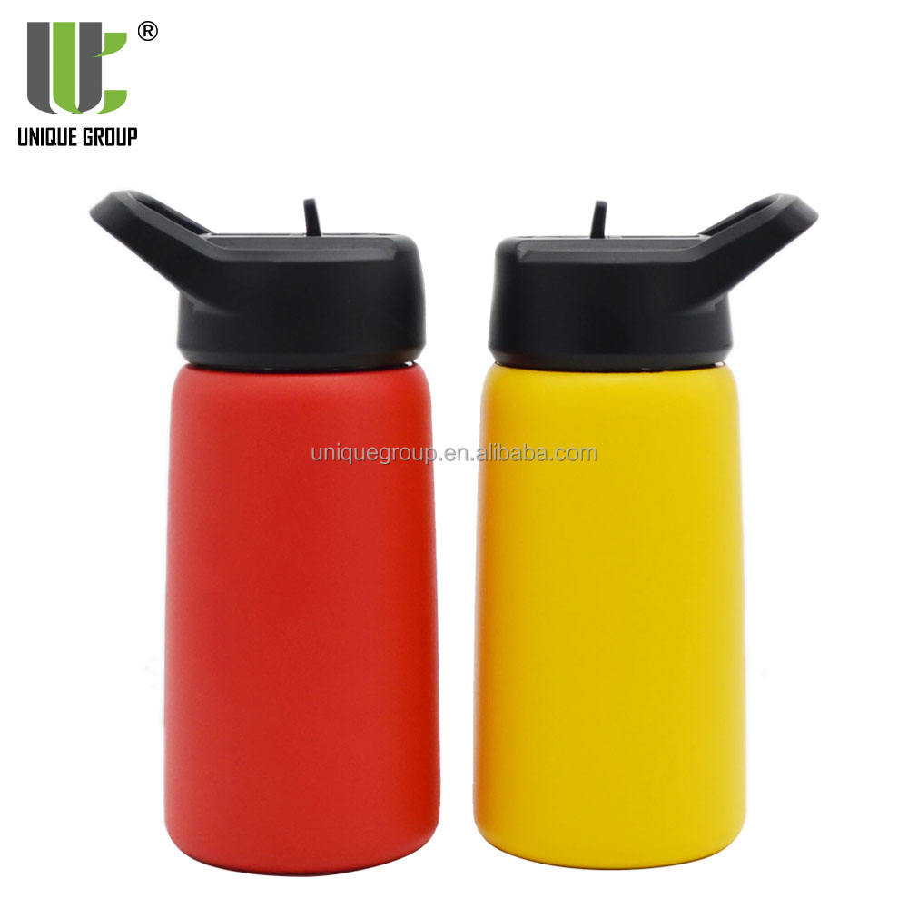 Unique Group 2018 New Custom Stainless Steel Wide Mouth Vacuum Insulated Water Bottle