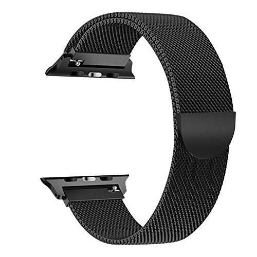 Magnetic buckle for Apple Watch Band 42mm 38mm 44mm 40mm compatible iWatch Bands Milanese Loop for Series 6/se/5 4 3 2 1