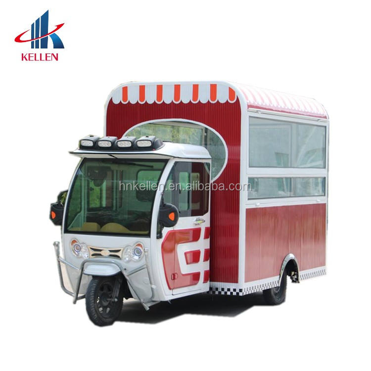 Professional supplier long service life selling moto food truck