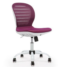 New Design Office Home Using Swivel Desk Chair Company  Leisure Armless Mesh Chair