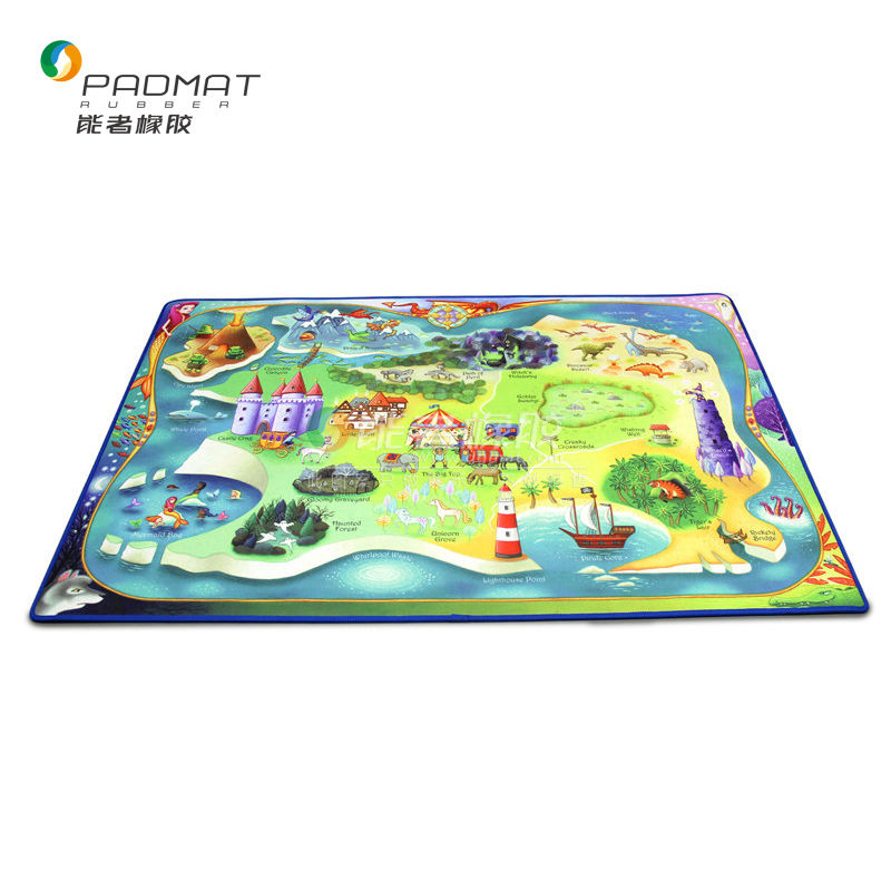 Baby Care Play Mat with Borders Included- Great for Kids to Learn and Play