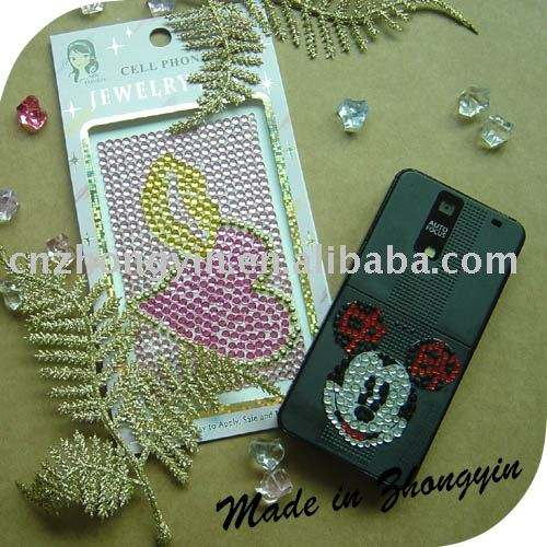 On sale custom phone sticker decal skin(ZY1-8043)