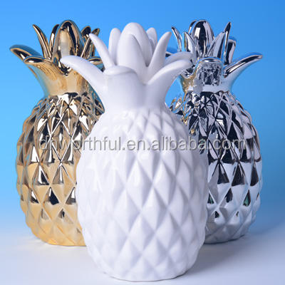 2019 high quality ceramic pineapples wholesale