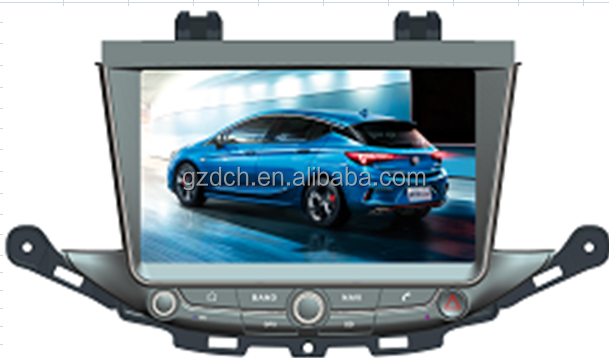 9 inch android dvd car player for BUICK VERANO GS 2015- / ASTRA K quad core 1024*600 1G+16G WS-9785