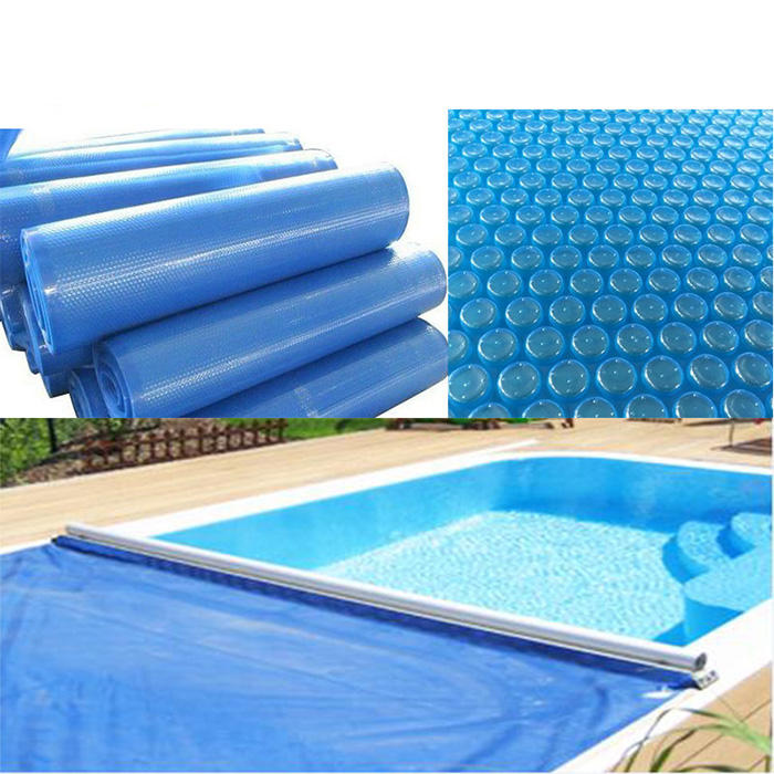 swimming pool cover automatic acrylic foam bubble round pool cover for keep water heating