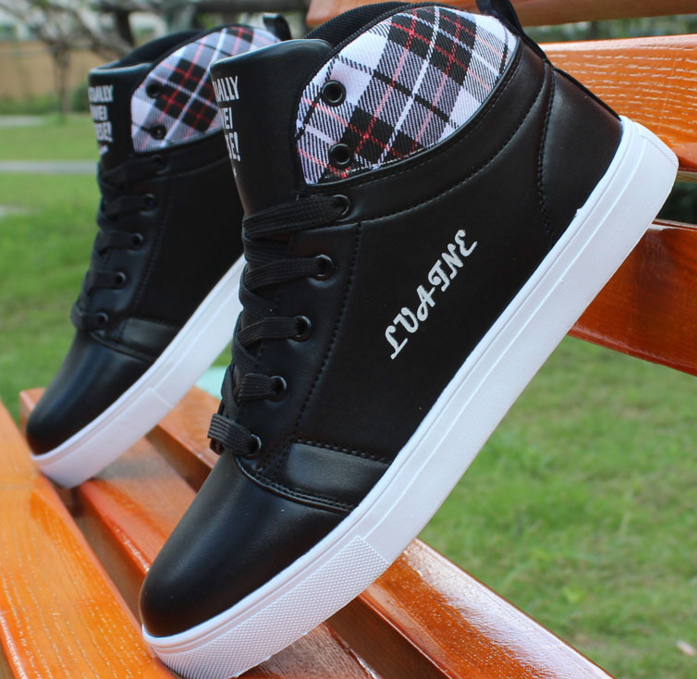 The new design Autumn and winter fashion casual sport footwear black white shoes