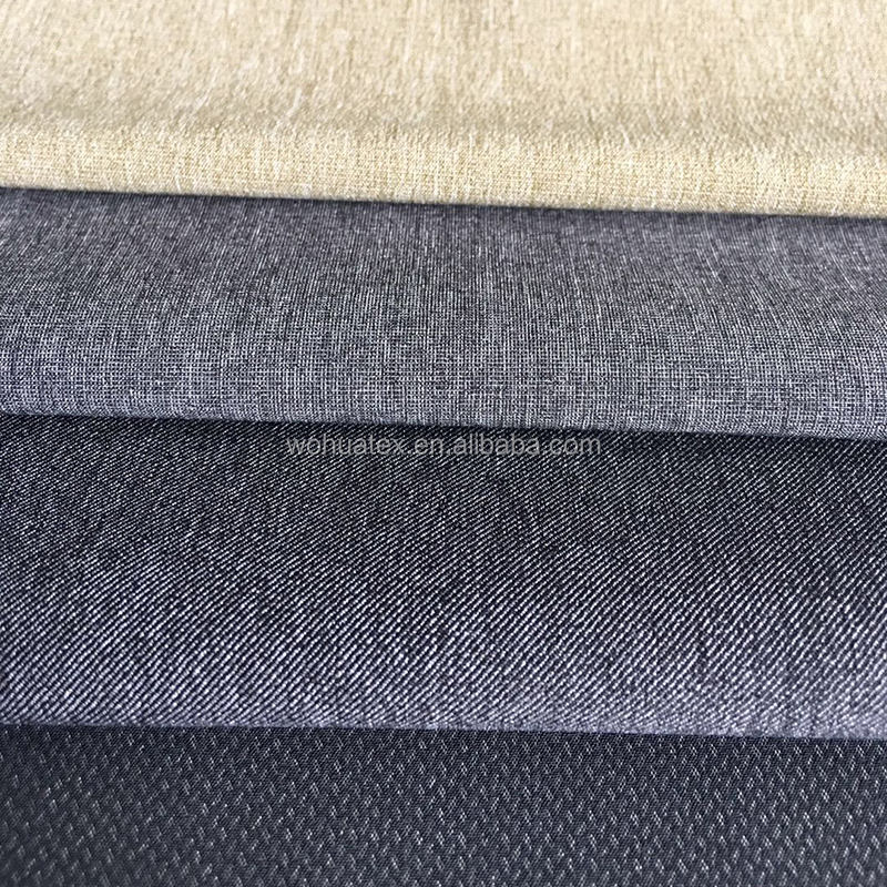 Wholesale rayon woven men's suit fabric poly wool fabric for uniform,pants