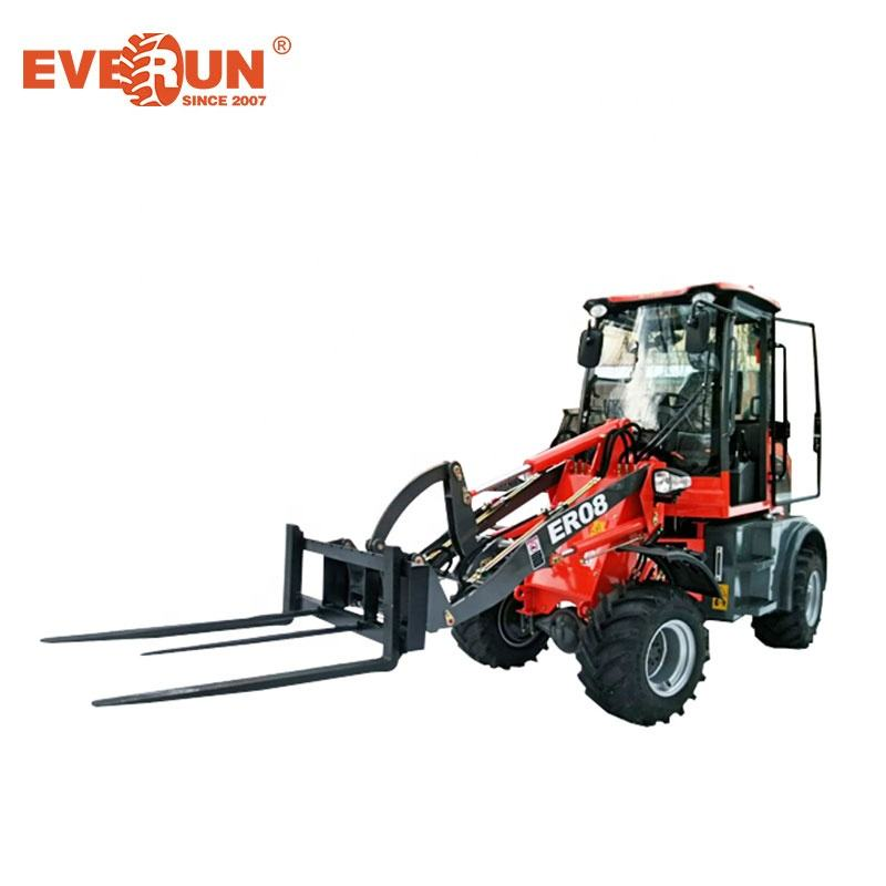 Dependable quality Everun ER08 construction equipment mini weel loader