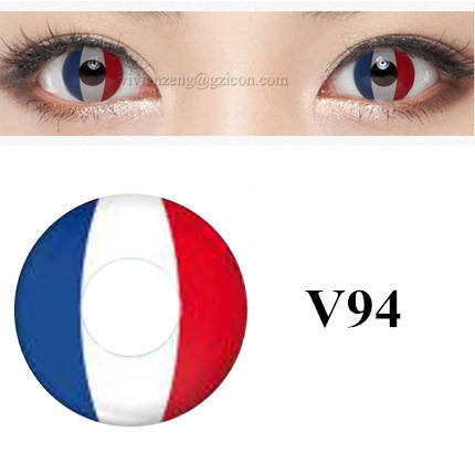 wholesale color coco eye contact lens funny eyes contact lens