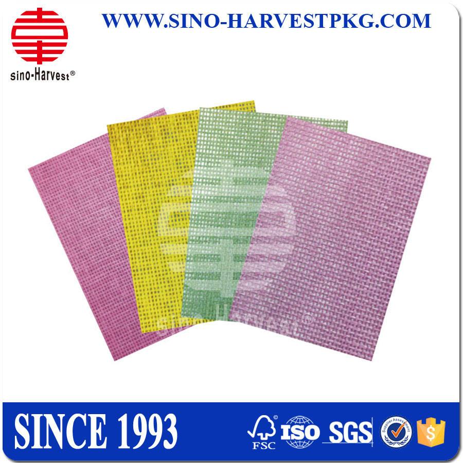 100% древесной массы украшения бумаги волокна ткани