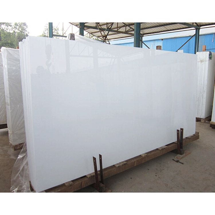 White Crystallized Glass Stone Outdoor Stone Wall Tile