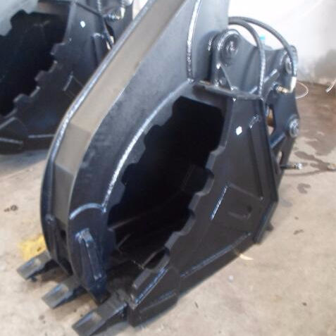 Grab bucket for small excavator 1.7t attachments