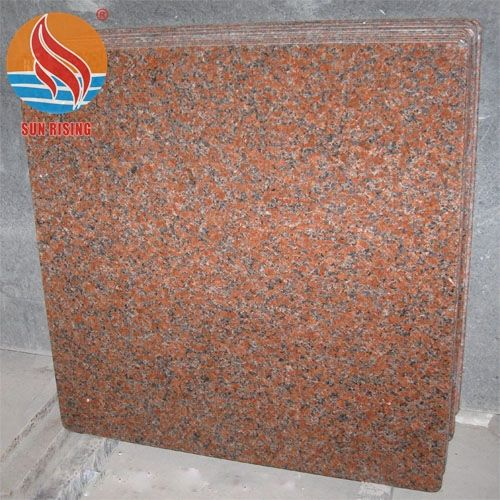 China Quarry Cheapest G562 Maple Red Granite Tiles for Countertops and Stair Steps