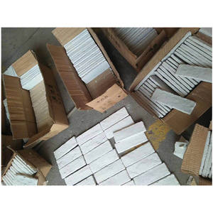 1500 square meter white face brick for outdoor wall