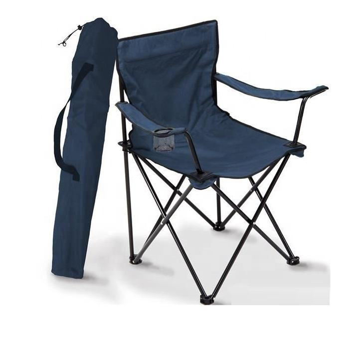 Portable Foldable Lightweight Cheap Camping Beach Fishing Folding Chair Outdoor with Cup Holder and Carrying Bag